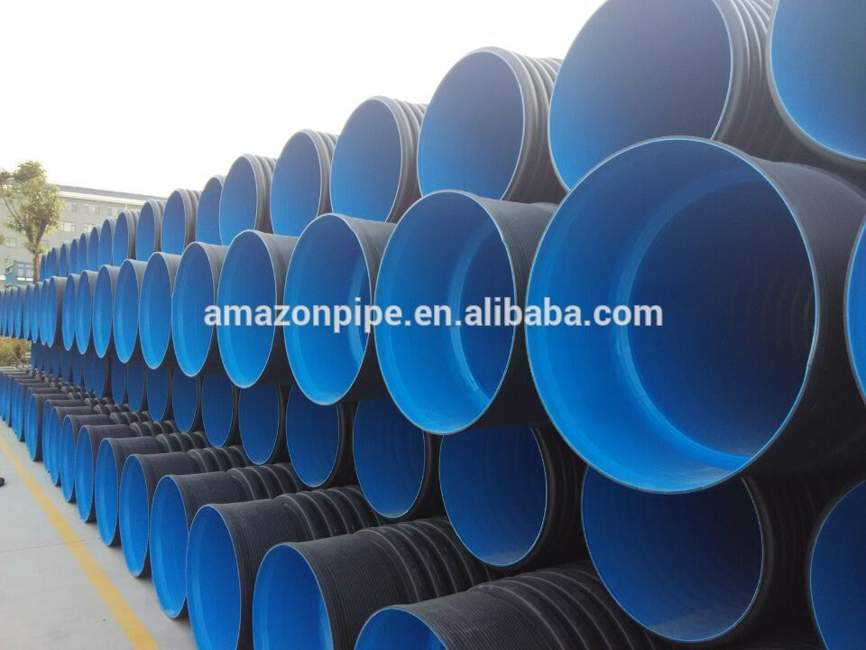 China Corrugated Plastic Drainage Tubing Pipe Manufacturers
