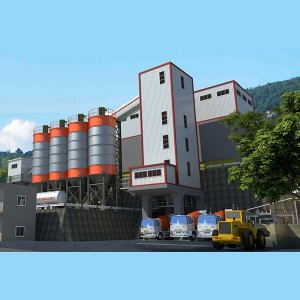 Ready-mix concrete batching plant