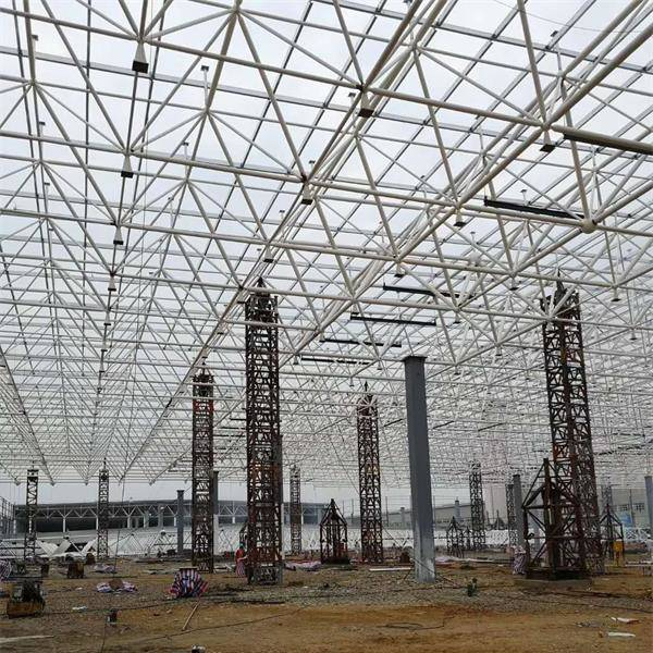 China Factory Price Steel Truss Coal Storage Shed Roof