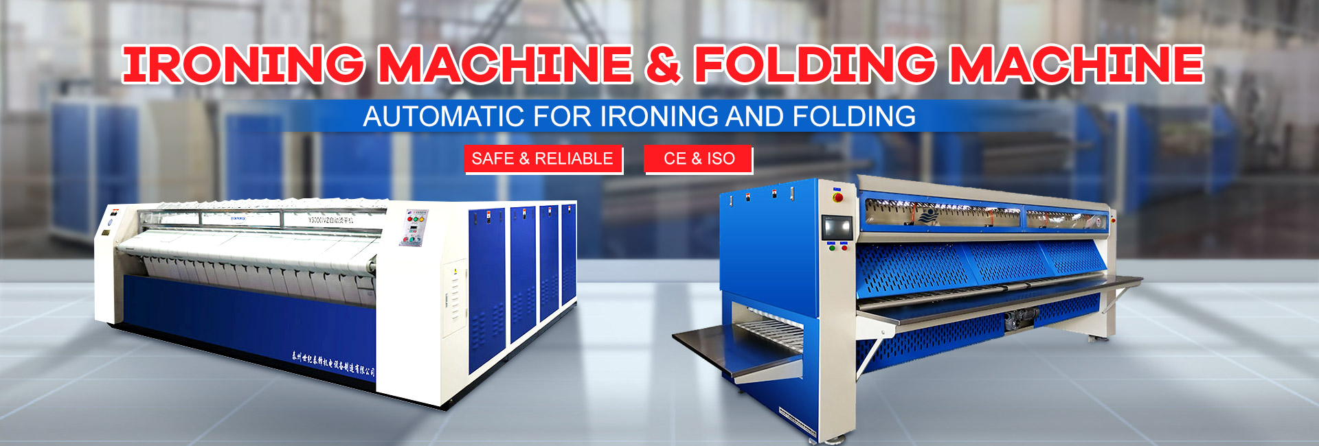 Peglanje Machine & Folding Machine