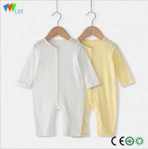 hot selling Bamboo Fiber Eco-Friendly Breathable Baby Rompers Factory