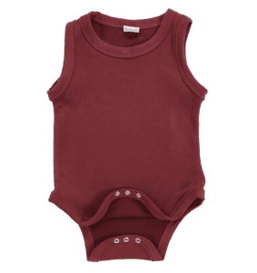 Customize Newborn Sleeveless Organic Cotton Romper Manufacturer