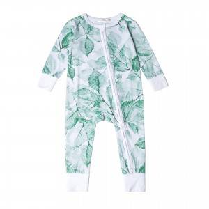 Hot Selling China Bamboo Baby Romper Manufacturer