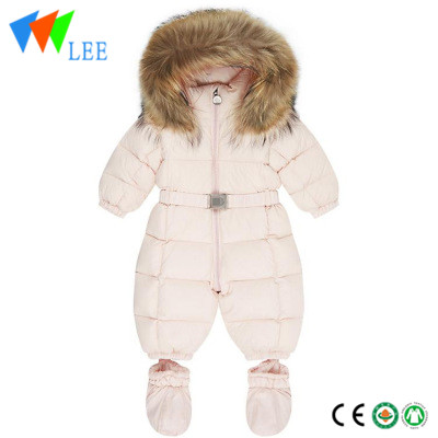 baby high quality down jacket One piece Down Jacket ji bo zivistanê