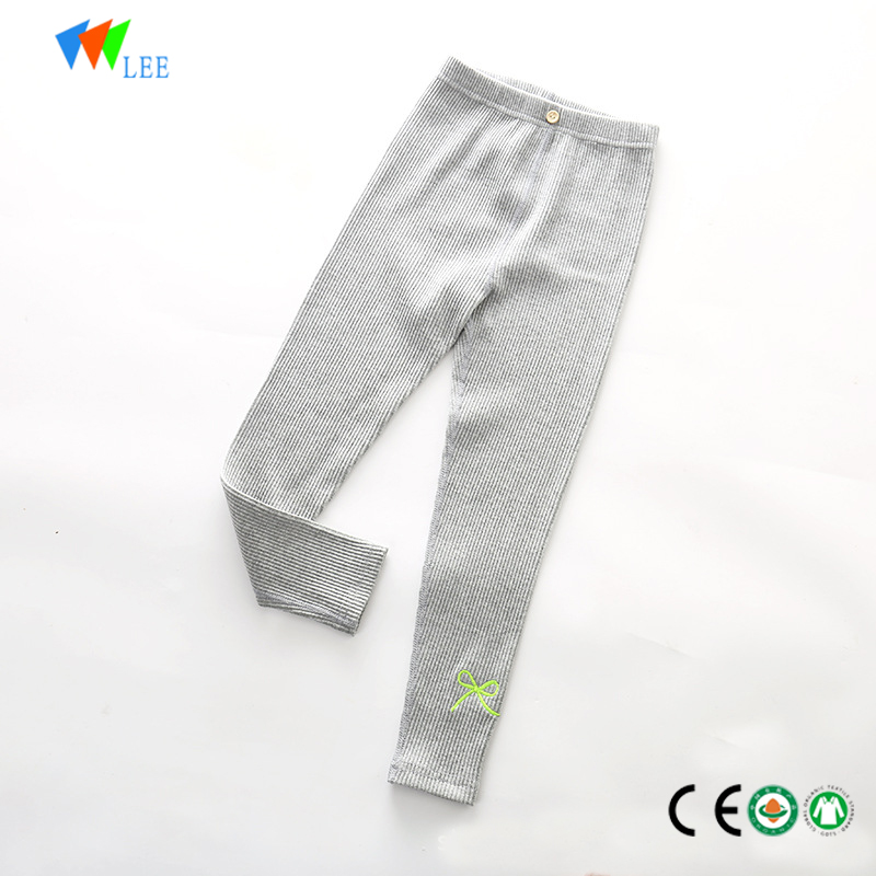 High quality warm legging girls pant wholesale children cotton leggings