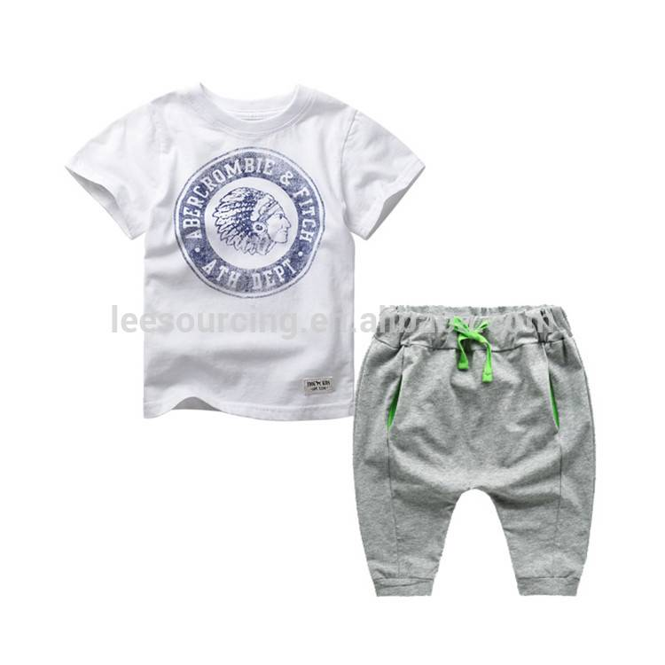 Fashion Kids Boys Clothes Set Children Top uye unokutakwairirai 2pcs Set kuti zhizha