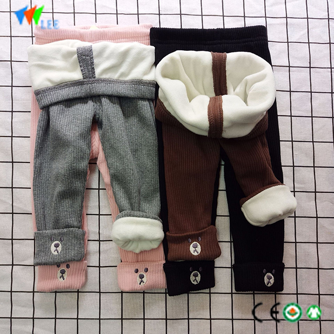 fashion High quality warm legging girls pant wholesale children cotton leggings
