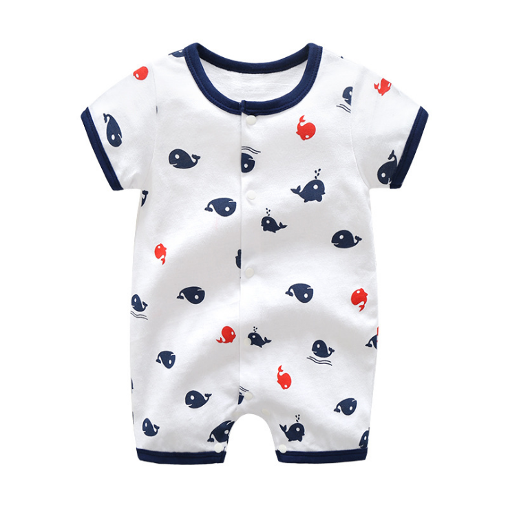 High quality soft material clothes 100% baby girl cartoon bamboo rompers
