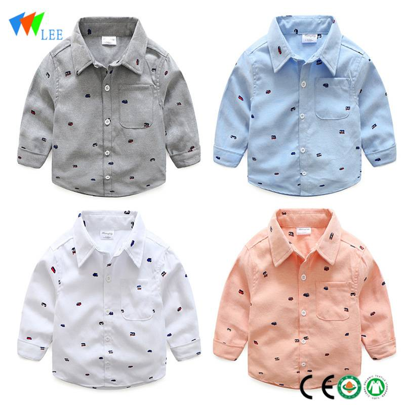 wholesale china manufacture children new fashion long sleeve polyester boys t-shirt