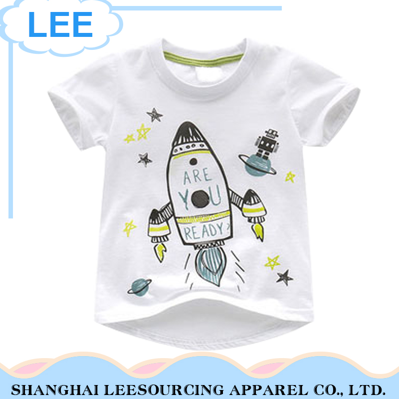 2017 New Baby Summer T shirts Children Tops Cotton Casual Shirts
