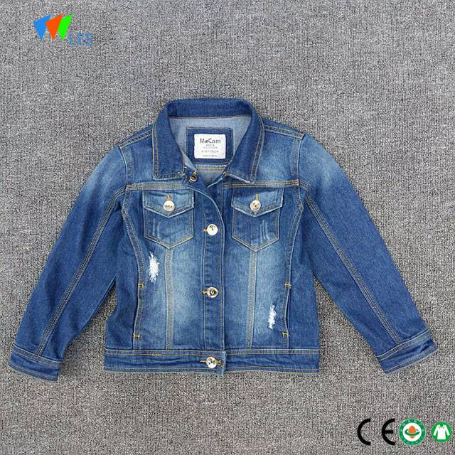 wholesale sabon zane Denim jacket ga jariri boys yara