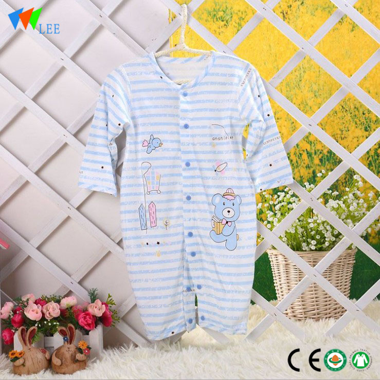 Wholesale Made-in-Shina Very mora Baby akanjo Bamboo Cotton Plain White zazakely vao teraka Clothes Romper