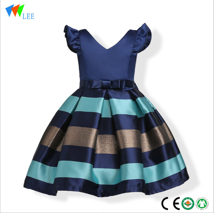 New design princess good price beautiful baby girl party dress