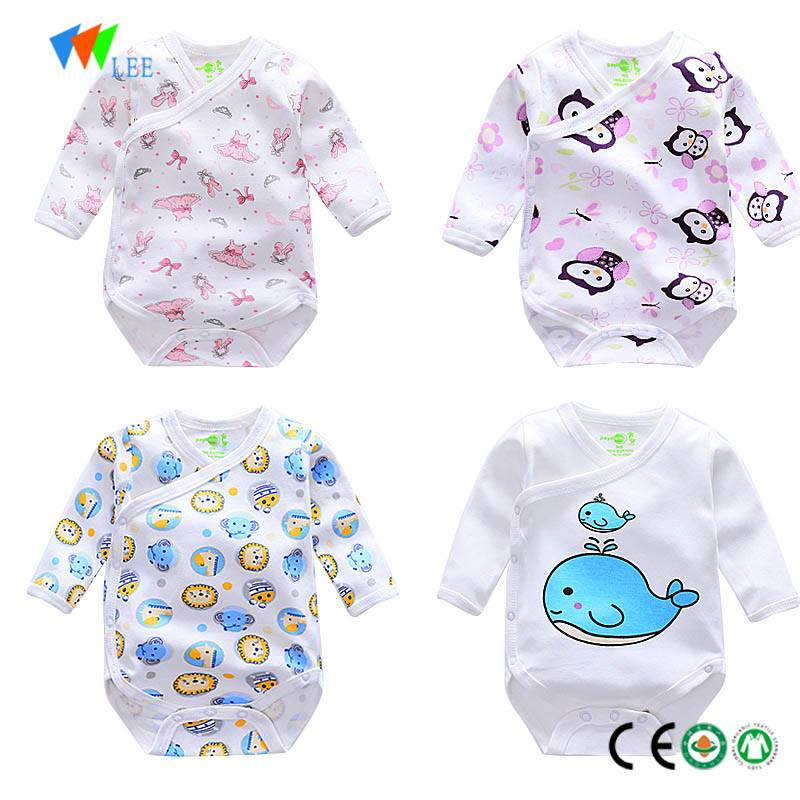 branded cartoon newborn baby clothes romper classical design wholesale baby romper
