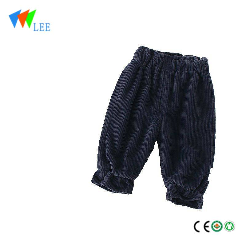 autumn and winter kids fashion design ruffle kids baby harem pants