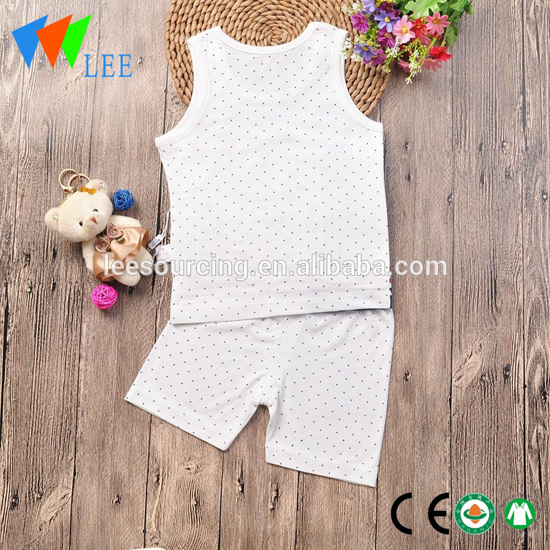baby bamboo cotton clothing vest and shorts set baby organic bamboo set