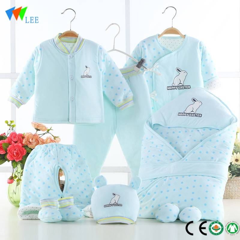 New fashions long-sleeved organic cotton kids romper wholesale baby romper
