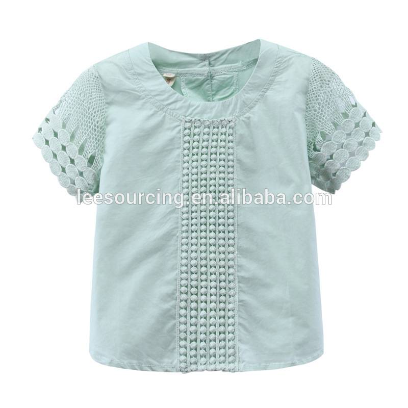 girls Baby Lase shirts cilên zarokan chiffon wholesale shirts doll top for kids