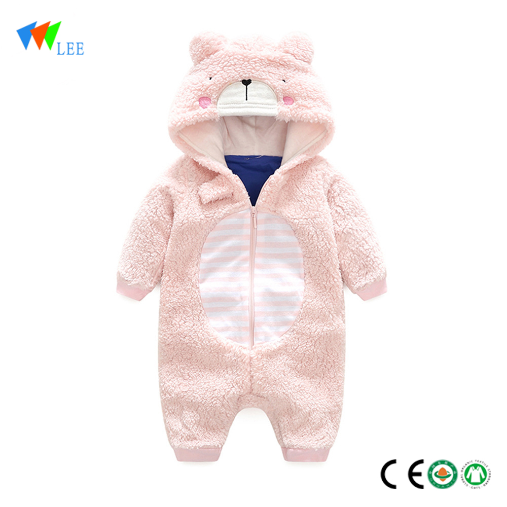 wholesale New fashion cotton long sleeve romper comfortable thickness baby romper