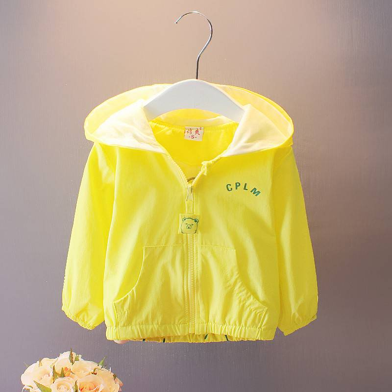 Fashion children hoodies Outwear kids coat summer cool baby jacket