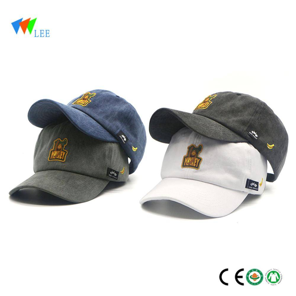 Baby 100/% Cotton Embroidered Personalised Hat With The Saying The Boss