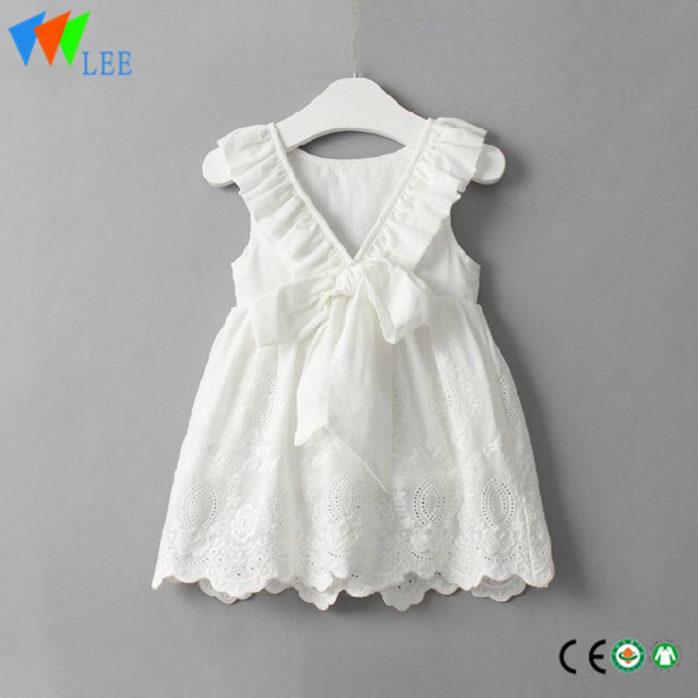 best quality baby clothes manufacturers in china lace dress manufacturer
