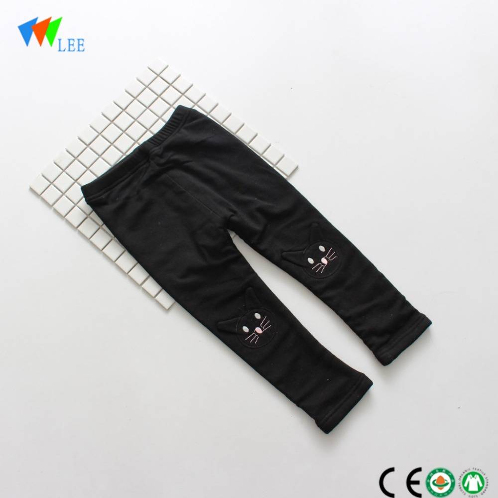 fashion child cotton leggings high quality kids leggings pant with pattern wholesale
