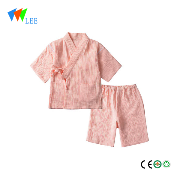 Baby boy home wear Nightclothes 100% Cotton Children Pyjamas clothes set wear wholesale