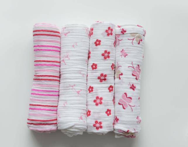 Wholesale Muslin Baby Swaddle Blanket 100% Organic Cotton Perfect for Swaddling