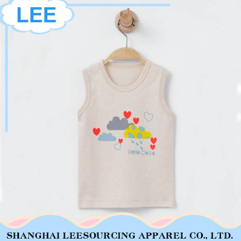 2017 Wholesale Summer Baby Boy'S T Shirts Sleeveless Sweater