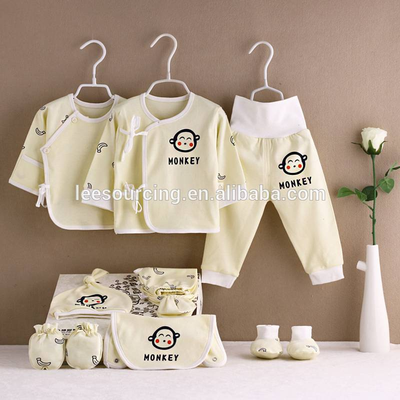 OEM/ODM Factory Cheap Sports Pants - Good price 10 pcs newborn baby set 100% cotton baby clothing gift set – LeeSourcing