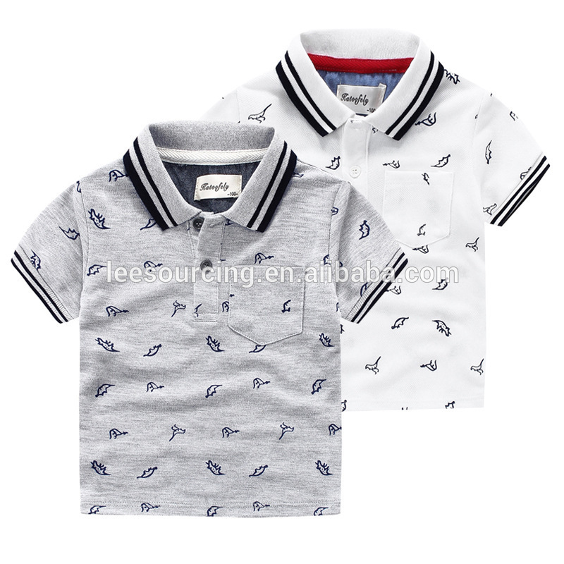 2018 New Style Cheap Khaki Pants - Summer children printed t shirt kids polo t shirt wholesale – LeeSourcing