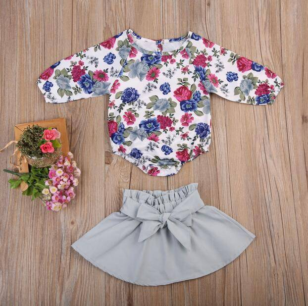 wholesale 0-2 years girl long sleeve rompers cotton baby clothing romper