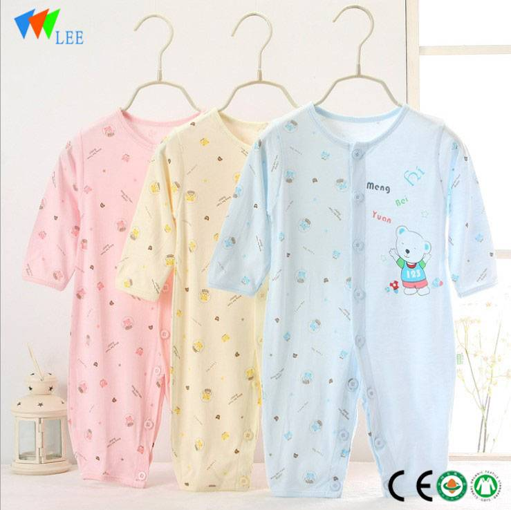 Hot sales Eco friendly elu àgwà nwa achara nwa sleepsuit nwa achara uwe
