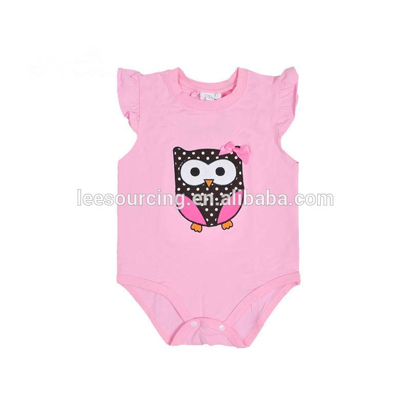 New design lace short sleeve summer bodysuit baby clothes romper