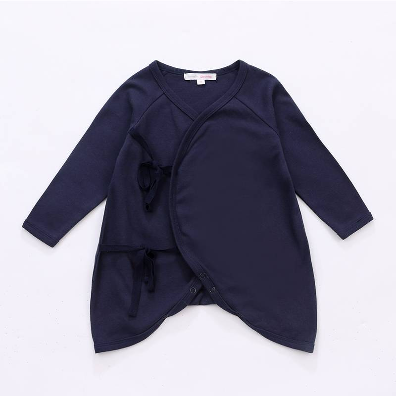 Wholesale bamboo baby clothing summer long sleeve newborn romper