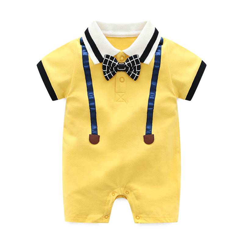 Wholesale Organic Cotton Baby Infant Clothes Jumpsuit Baby Rompers
