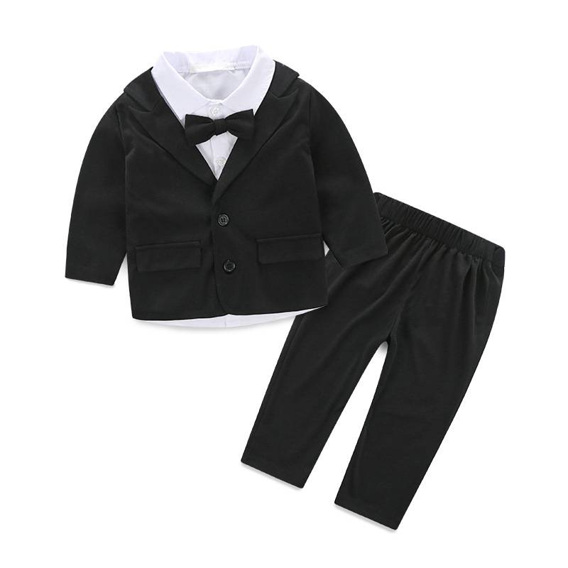 Hot selling kids suit design children wear baby boy clothes wholesale kids boutique clothing set