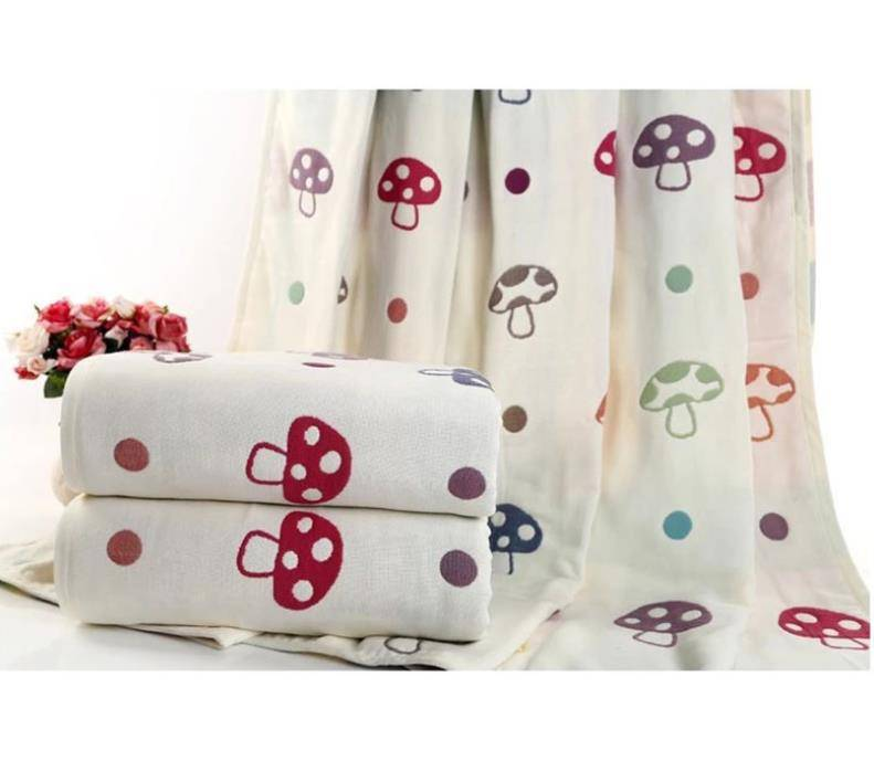 High quality custom cotton bamboo muslim  swaddle blanket