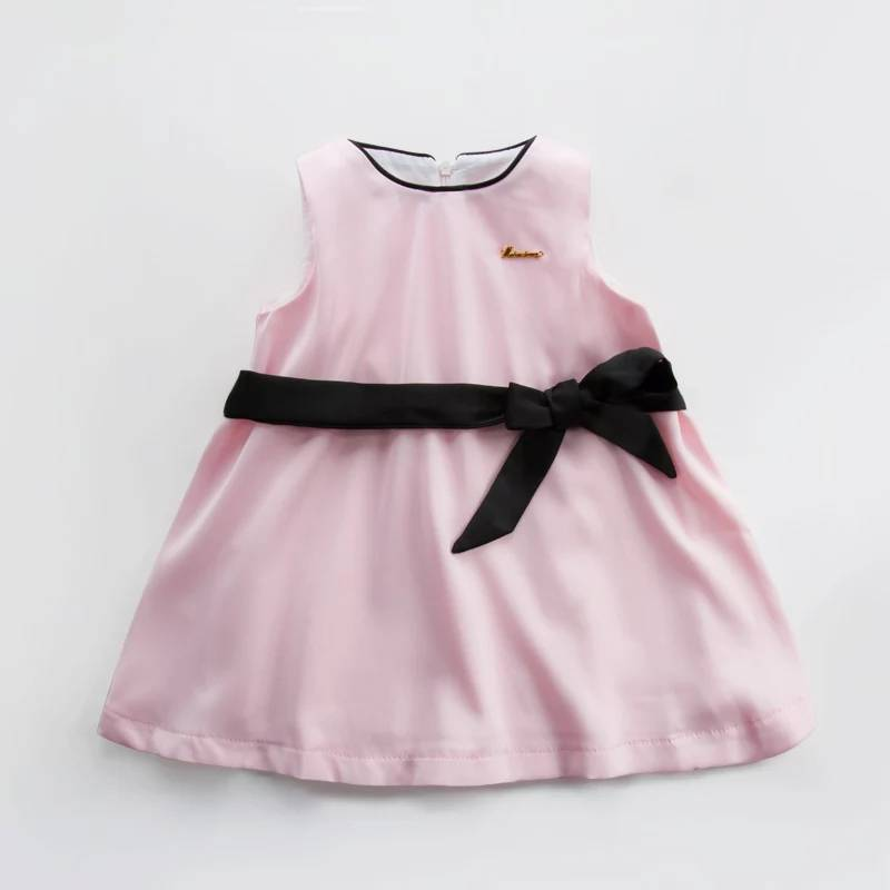 Wholesale Waterproof Pink Children Baby Party Dresses for 8 Year Old Girls