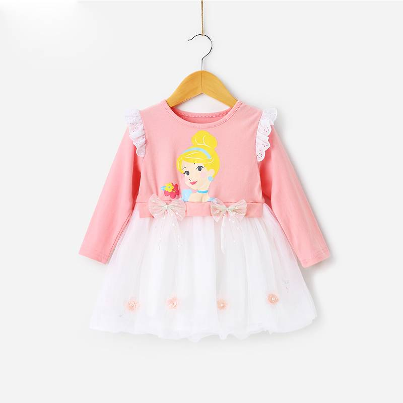 Newest Arrival Pink Children Wear Baby Girl Tulle Dress