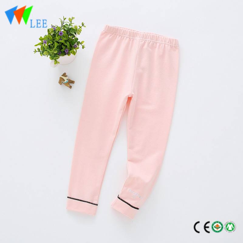 Excellent quality Summer Kids Clothes - fashion cotton children baby girl summer spring pants – LeeSourcing