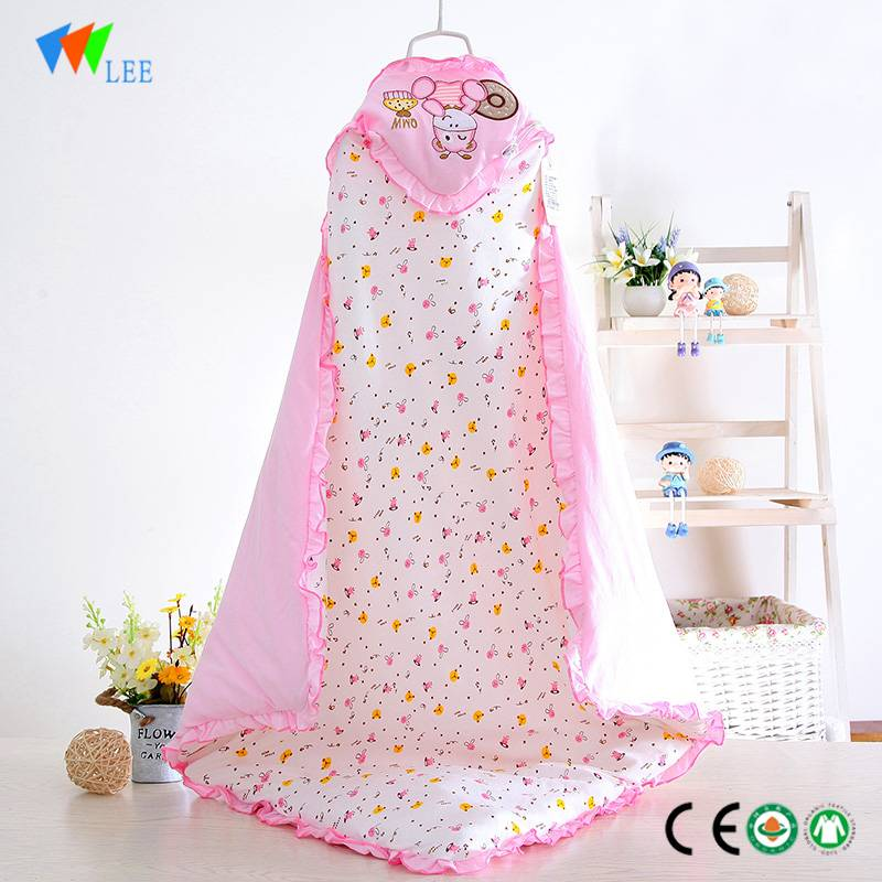 latest new design and fashionable style wholesale high quality soft baby bamboo fiber blanket sleeping bag