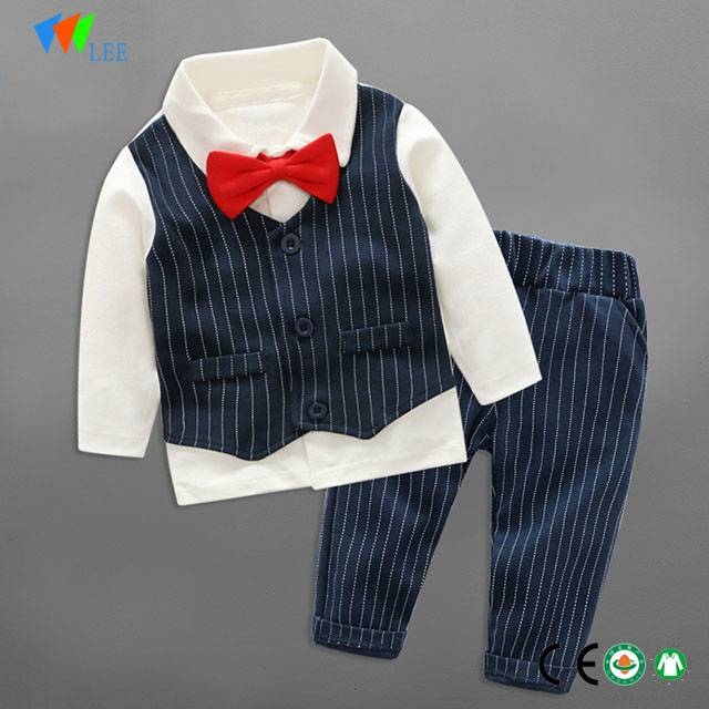 1-3T fashion baby boy two piece clothing outfit set