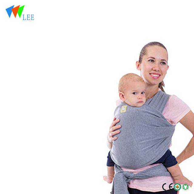 hot sell organic muslin carrier baby wrap