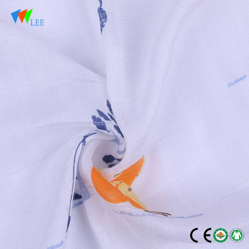 2018 new design and fashionable style wholesale high quality soft baby bamboo fiber blanket