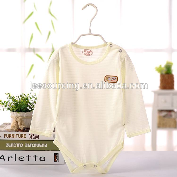 Hot selling summer baby graphic bodysuit long sleeve bamboo baby onesie Featured Image