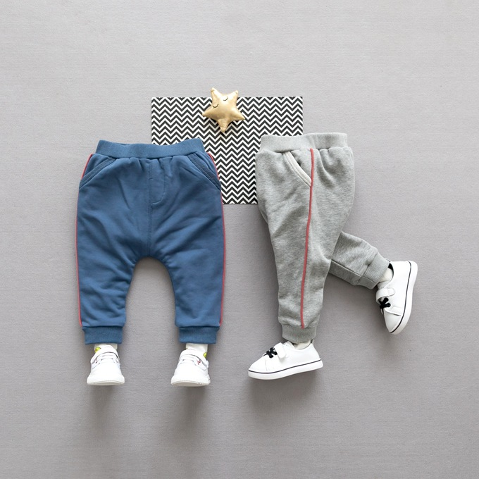 2017 High quality winter knitted sports pants baby fitness leggings