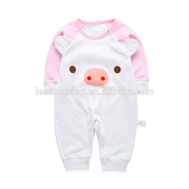 Wholesale infaqnt playsutit 100% cotton newborn outfits high quality romper