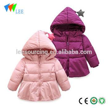 Kids Clothes With Hood Padding Outwear For Winter Kids Coats Dress Down Jacket